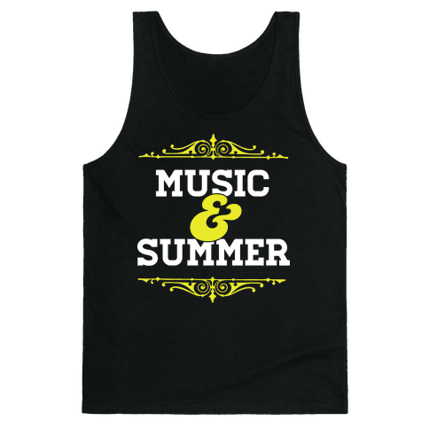 Music & Summer Tank Top