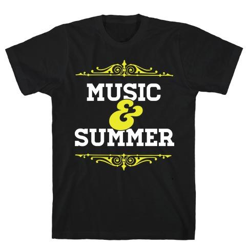 Music & Summer T-Shirt
