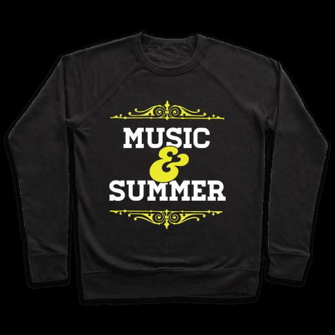 Music & Summer Pullover