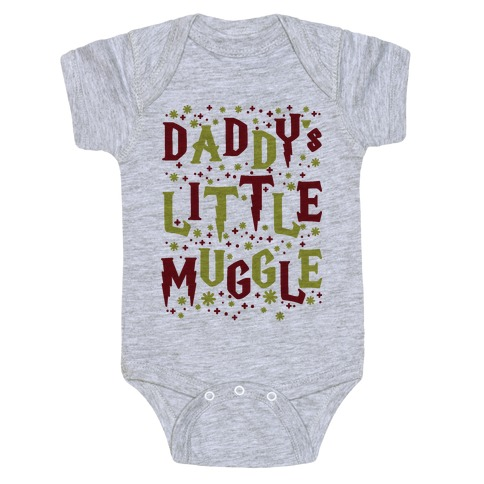 Daddy's Little Muggle Baby Onesy