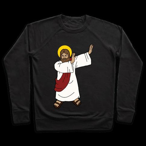 Dabbing Jesus Pullover