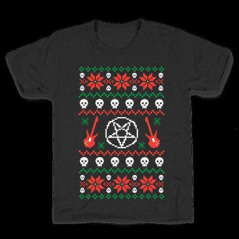 Ugly Sweater Heavy Metal Kids T-Shirt