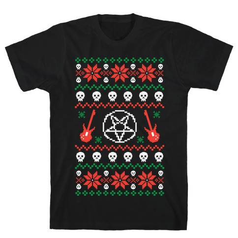 Ugly Sweater Heavy Metal T-Shirt