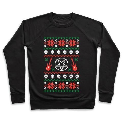 Ugly Sweater Heavy Metal Pullover