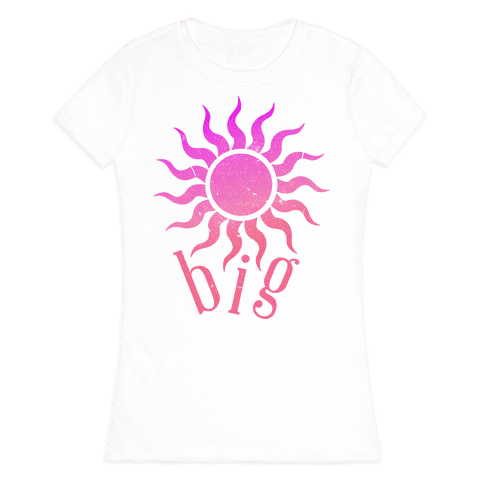 Sun and Moon (sun) Womens T-Shirt