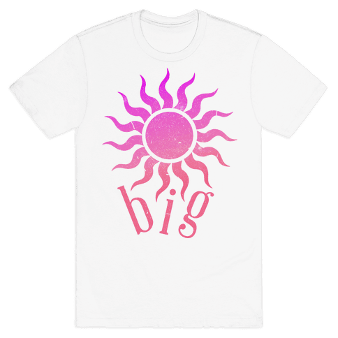 Sun and Moon (sun) Mens T-Shirt