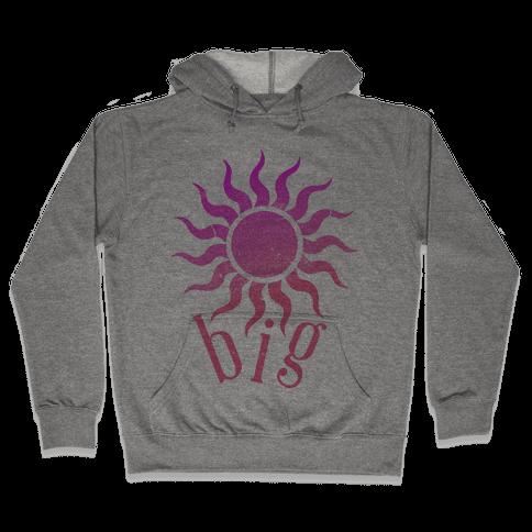 Sun and Moon (sun) Hooded Sweatshirt