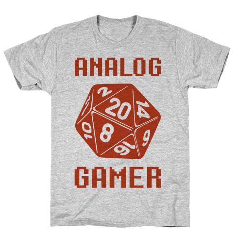 Analog Gamer Mens T-Shirt