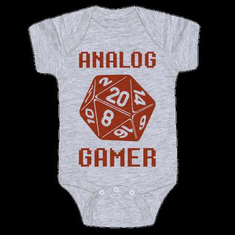 Analog Gamer Baby Onesy