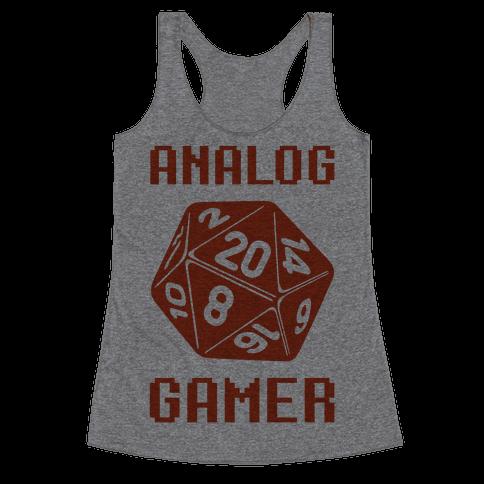 Analog Gamer Racerback Tank Top