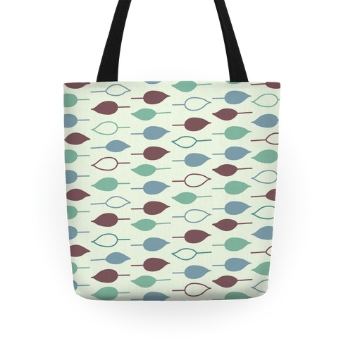 Leaf Pattern Tote (Green) Tote