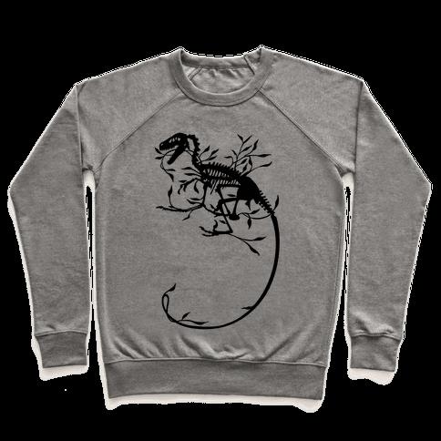 Floral Dinosaur Pullover