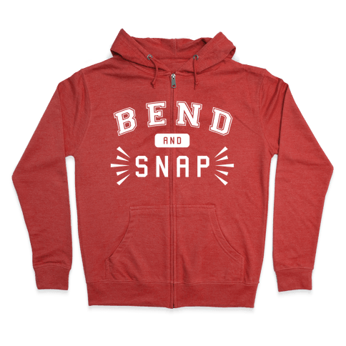 Bend and Snap Zip Hoodie