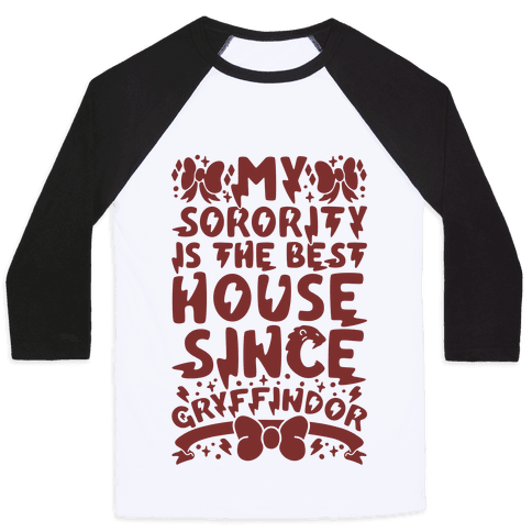 Gryffindor Sorority Baseball Tee