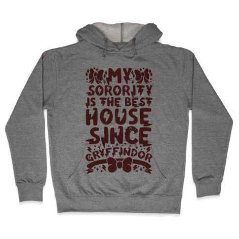 Gryffindor Sorority Hooded Sweatshirt