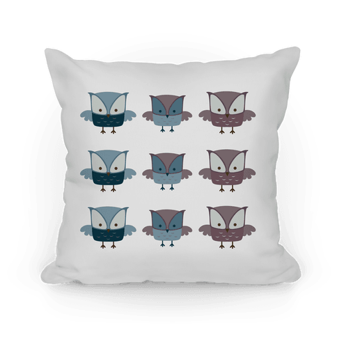 Cute Owls Pillow