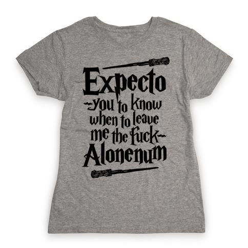 Expecto Alonenum Womens T-Shirt