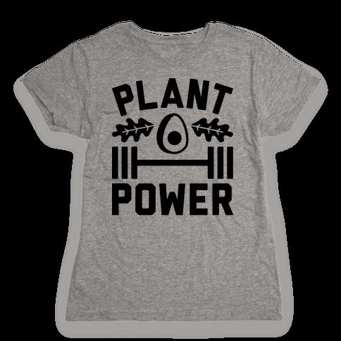 Plant Power Womens T-Shirt
