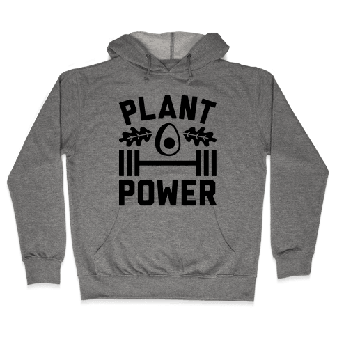 Plant Power Hooded Sweatshirt