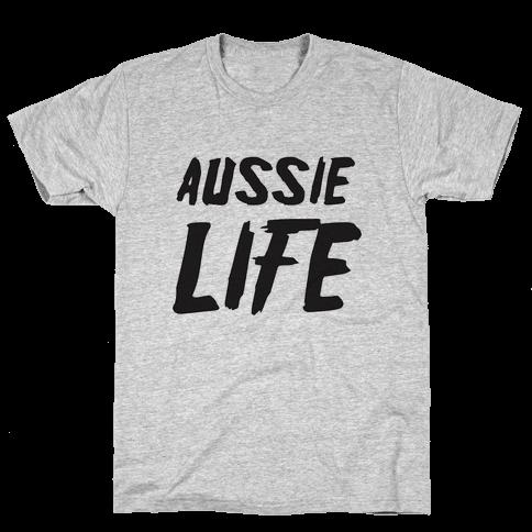 Aussie Life Mens T-Shirt