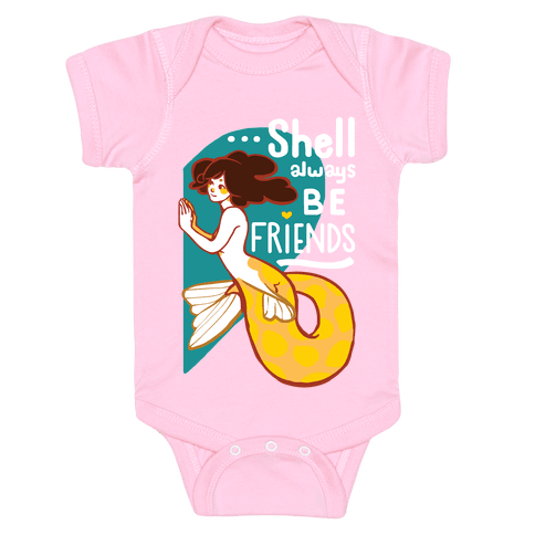Shell Always Be Friends ( part 2) Baby Onesy