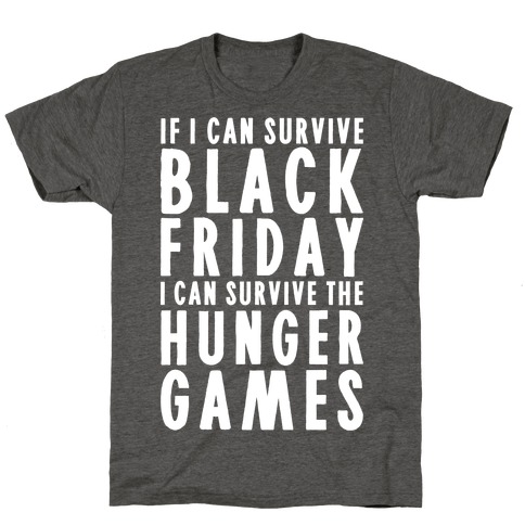 Black Friday Hunger Games T-Shirt