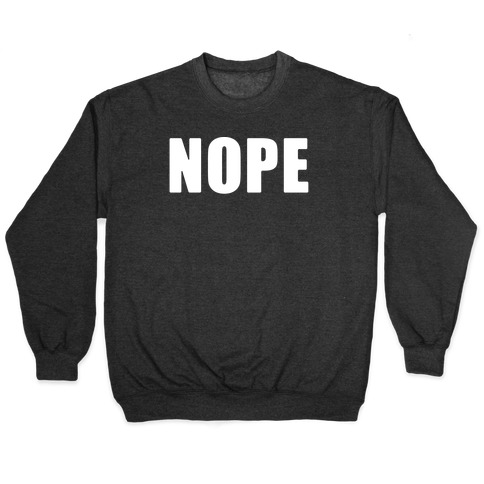 Nope Pullover