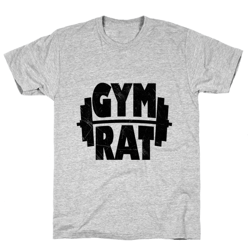 Gym Rat Mens T-Shirt