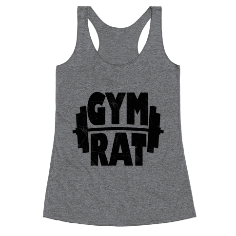 Gym Rat Racerback Tank Top