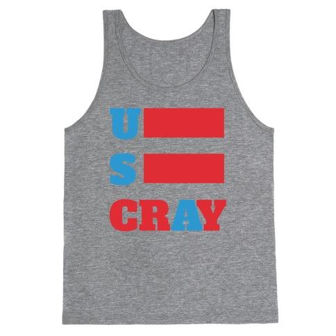 U S Cray Tank Top