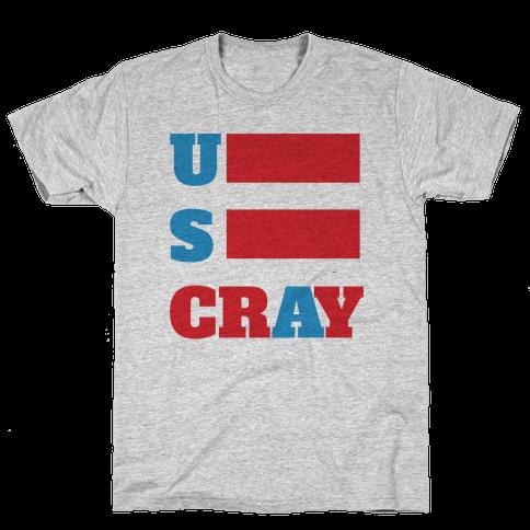 U S Cray Mens T-Shirt