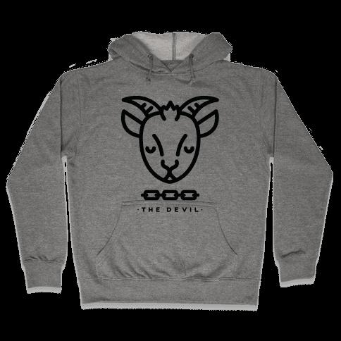 The Devil Tarot Hooded Sweatshirt