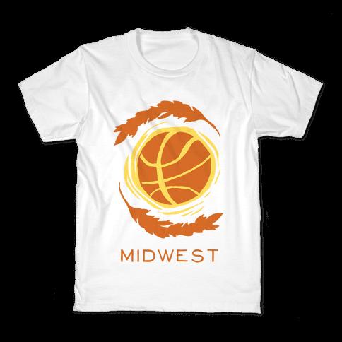 Midwest Basketball Kids T-Shirt
