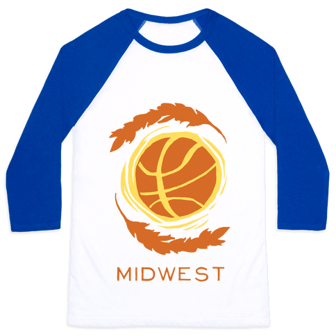 Midwest Basketball Baseball Tee