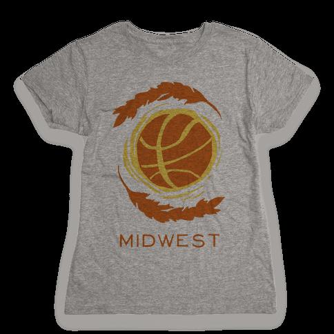 Midwest Basketball Womens T-Shirt