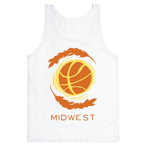 Midwest Basketball Tank Top