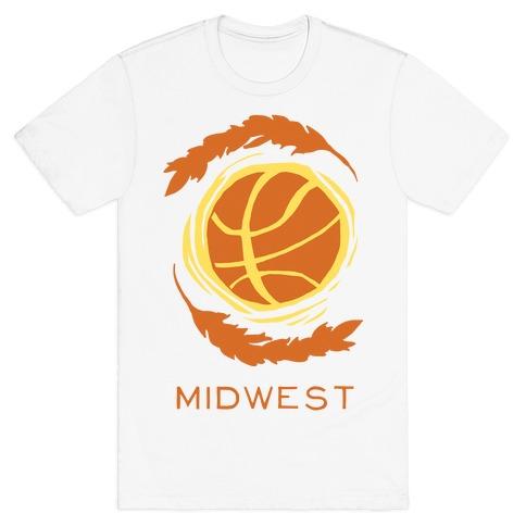 Midwest Basketball T-Shirt
