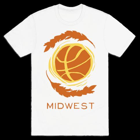 Midwest Basketball Mens T-Shirt