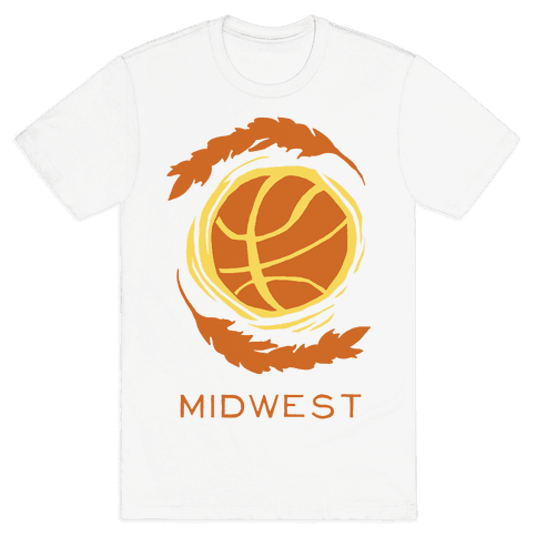 Midwest Basketball Mens T-Shirt