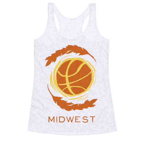 Midwest Basketball Racerback Tank Top