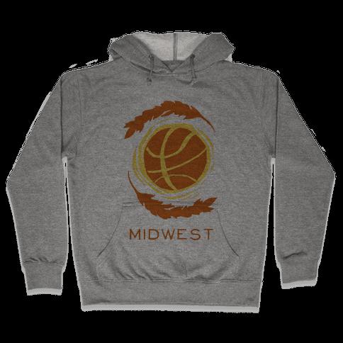 Midwest Basketball Hooded Sweatshirt