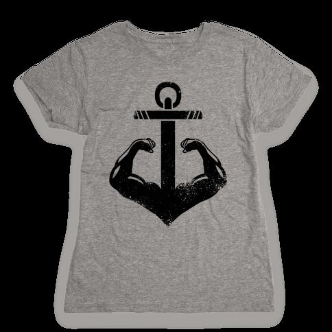 Swole Anchor Womens T-Shirt