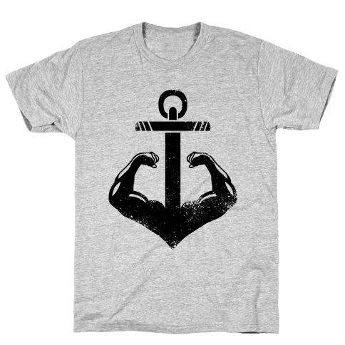 Swole Anchor Mens T-Shirt