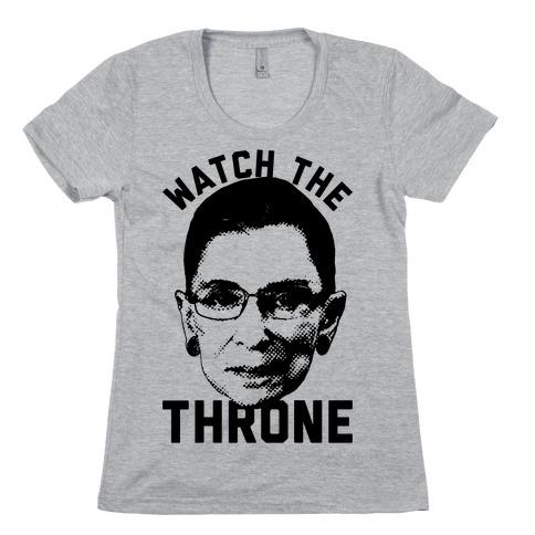 Watch The Throne RGB Womens T-Shirt