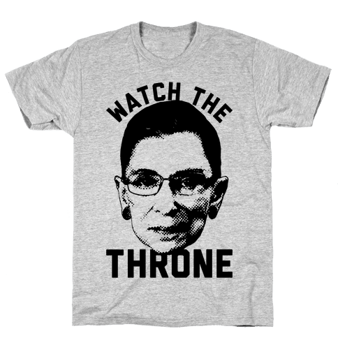 Watch The Throne RGB Mens T-Shirt