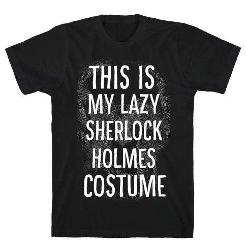 Lazy Sherlock Holmes Costume T-Shirt