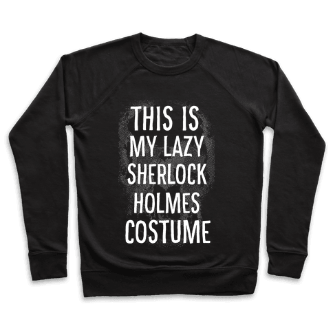 Lazy Sherlock Holmes Costume Pullover