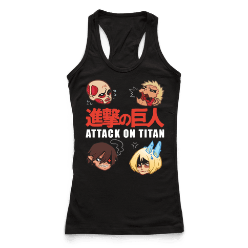 Attack On Titan Heads