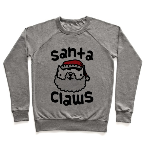 Santa Claws Pullover