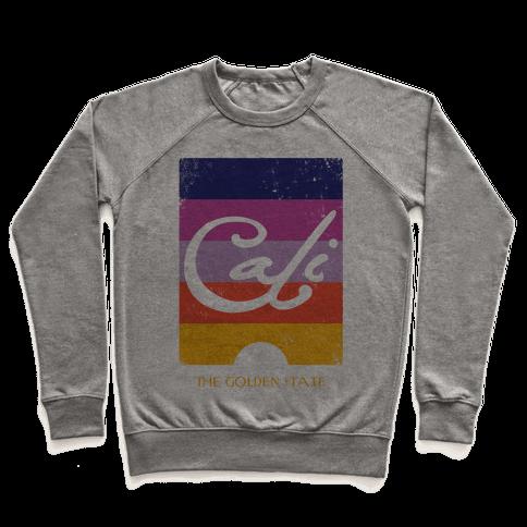 California - Sunset (Vintage) Pullover